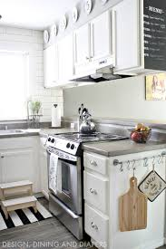 photos hgtv black and white kitchen countertop with cake stand