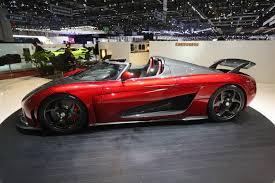 koenigsegg regera red koenigsegg regera hybrid hypercars made mega debut at geneva