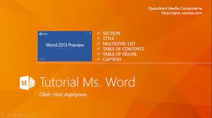 cara membuat daftar gambar word microsoft word membuat daftar isi daftar gambar daftar tabel