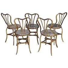 Vintage Bistro Chairs Bistro Chairs 41 For Sale On 1stdibs