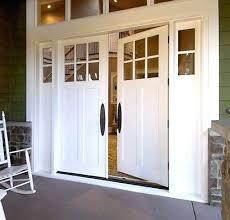 Pvc Exterior Doors White Exterior Door Exterior 1 Lite White Primed Door W Obscure