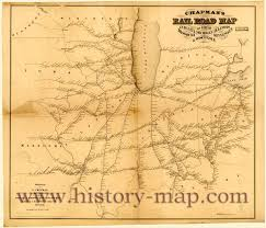 Missouri Road Map Chapman U0027s Railroad Map