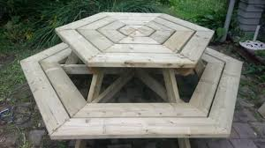 Build Wooden Picnic Table by Amazing 21 Wooden Picnic Tables Plans And Instructions Guide
