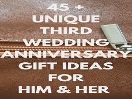 third anniversary gift ideas best 25 third wedding anniversary gift ideas on