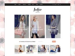 responsive wordpress theme jolie wordpress blog themes