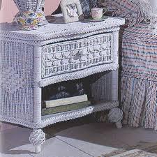 nightstands rattan daybed indoor white wicker headboard rattan