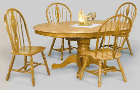 Light Oak Dining Room Chairs Oak Dining Room Sets