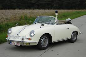 police porsche dutch porsche 356 police car comes up for auction