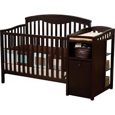 Delta Crib And Changing Table Delta Children Cambridge 4 In 1 Crib Changer Combo Espresso