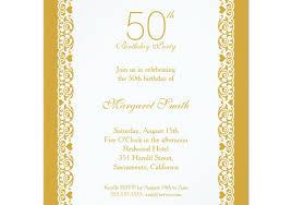 wedding 50th birthday invitations favorite 50th birthday
