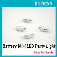 10pcs lot waterproof led mini lights for lanterns balloons