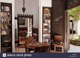 moroccan interior wonderful moroccan study library in moroccan home belonging to