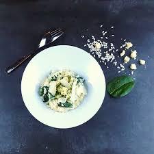 comment cuisiner les petoncles risotto pétoncles et épinards frais