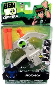 ben 10 omniverse tech gear proto bow roleplay toy bandai toywiz