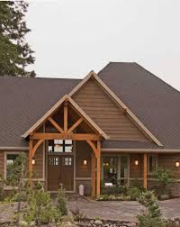 Craftsman Home Plan by Cliffwood Trail Lodge Home Plan 011s 0001 House Plans And More