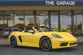 second porsche boxster s 2017 used porsche 718 boxster s roadster at the garage inc