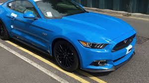 blue mustang 2017 grabber blue mustang gt pre delivery check