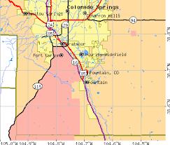 fort carson map colorado co profile population maps estate