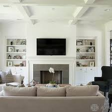 Family Room Built Ins Transitional Living Room Cote De Texas - Family room built in cabinets