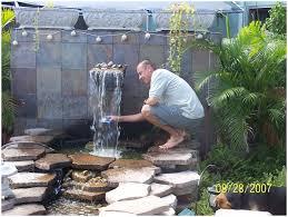 backyards cozy backyard waterfalls and ponds backyard images