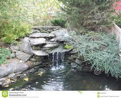 Rock Garden Waterfall Rock Garden Waterfall Stock Image Image Of Water Pine 51905393