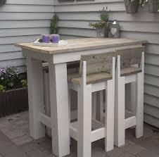 High Bistro Table Set Outdoor Best 25 High Table And Chairs Ideas On Pinterest Kitchen High