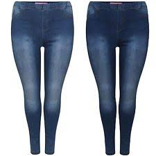 High Waisted Jeggings Plus Size Jeggings Stretch Coloured Jeans Plus Size For Women Ebay
