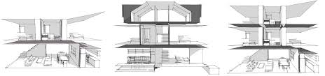 three story house plans modern house plans by gregory la vardera architect row house