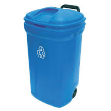 blue kitchen trash can home design photo gallery