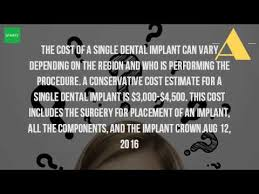 Bridge Dental Cost Estimate by How Much Does A Dental Implant Cost Without Insurance