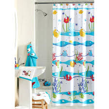 Fish Curtains Fish Shower Curtain Rings Shower Curtains Design