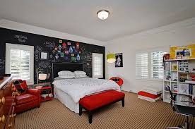 Red Bedroom Accent Wall Red Accent Wall In Bedroom Sky Blue King Size Quilt Butterfly