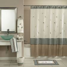 bathroom extra wide fabric shower curtain extra wide shower