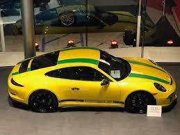 vintage porsche racing special racing yellow porsche 911 r tribute to ayrton senna