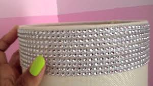 themed l shades diy how to sparkle bling out a l shade by the frugalnista