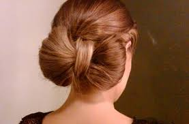 hair bow with hair wonderful easy bow bun for hair style