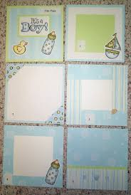 baby boy scrapbook album may 2004 idea of the month with to my heart rubber sts