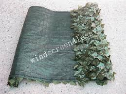 Outdoor Patio Windscreen by Windscreen4less Windscreen4less Artificial Faux Ivy Leaf Privacy