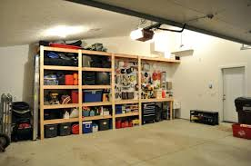 diy garage shelves planwood storage cabinets wood composite