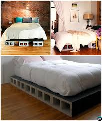 cinder block bed cinder block bed diy beds 15 you can make