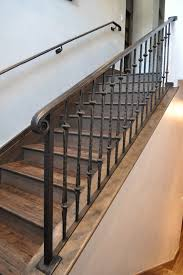 Iron Stair Banister Iron Stair Railing Staircase Mediterranean With Spanish Style Old