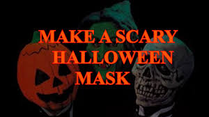 cheap halloween mask cheap and easy scary halloween mask youtube