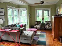 living room green paint interior design