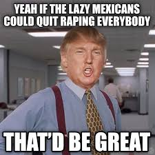 Mexican Racist Memes - 50 funniest donald trump meme images and photos on the internet