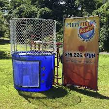 dunk tank rental nj dunk tank partytime rentals