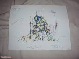 teenage mutant ninja turtles donatello drawing 2 replica movie prop