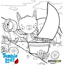 live laugh love coloring pages amazon launches season 2 of kid u0027s program tumble leaf