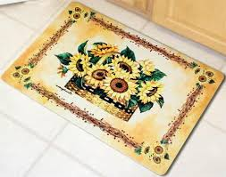 kitchen amazing washable kitchen rug sets sunflower kitchen rugs