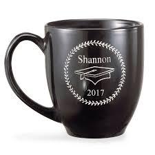 graduation mug personalized black graduation 15 oz mug bistro style walmart