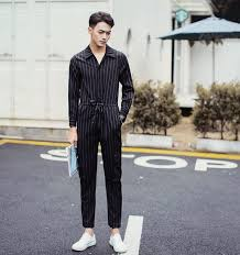 mens jumpsuit fashion shop 2017 brand designer fashion overalls